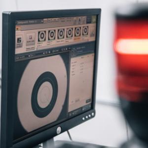 Image illustrant le logiciel de contrôle utilisé par notre laboratoire de contrôle