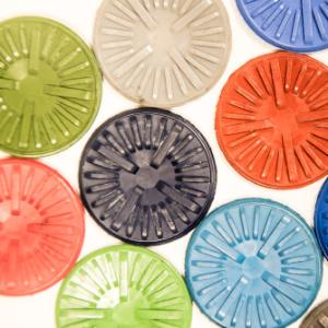 Image d'une pièce de caoutchouc permettant de tester des formulations caoutchouc